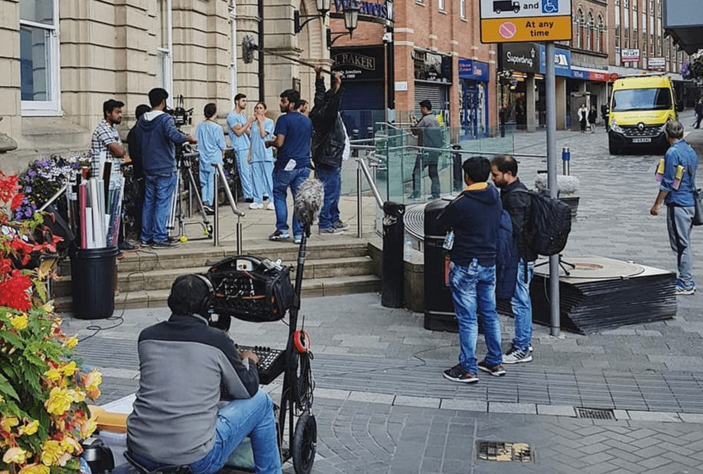 Bollywood Filming at The Town Hall!